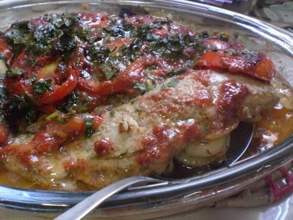 Receita de Filé de peixe ao forno                                                                                                                                                                                 Mais