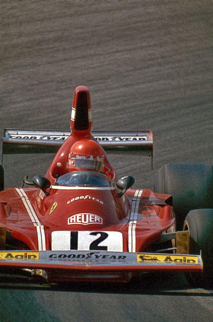 1974 - Niki Lauda (AUT)Scuderia Ferrari SpA SEFAC