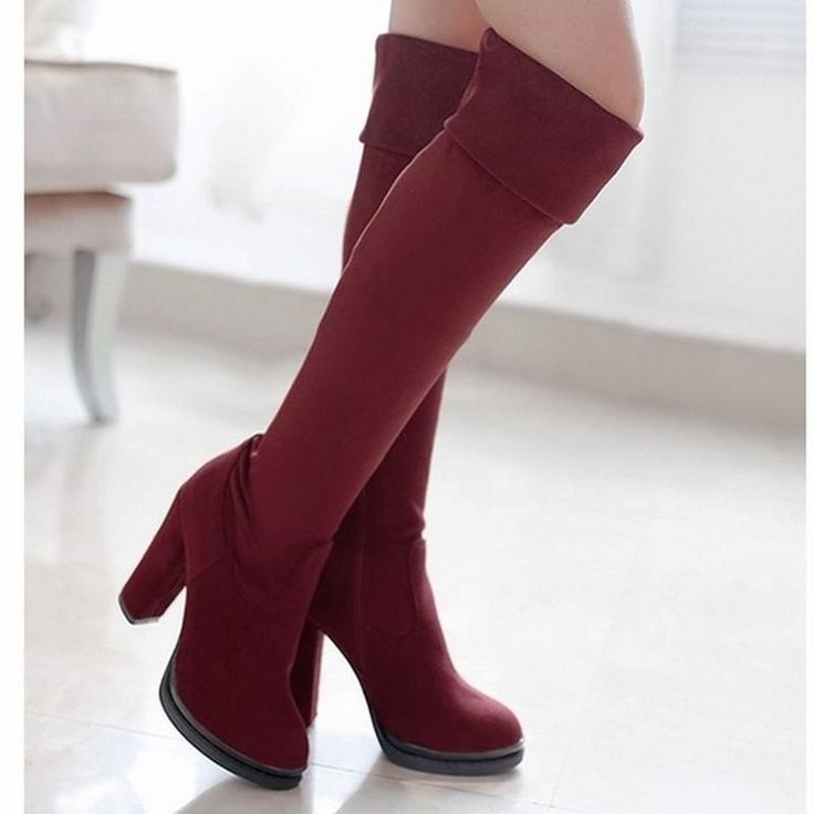WETKISS Designer Fashion Women's Over The Knee Boots...FREE SHIPPING...