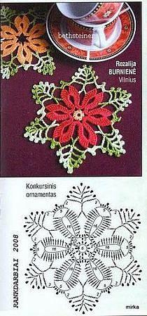 szydełkowe kwiatki na Stylowi.pl
