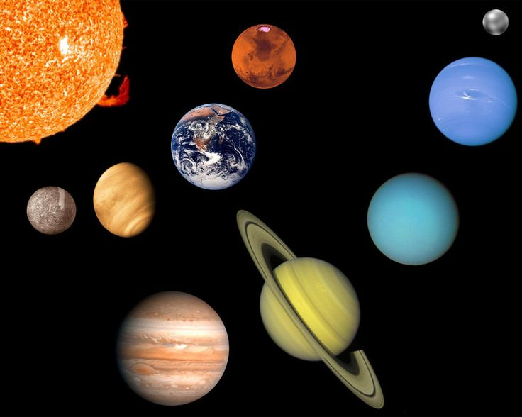 Космос картинки названия