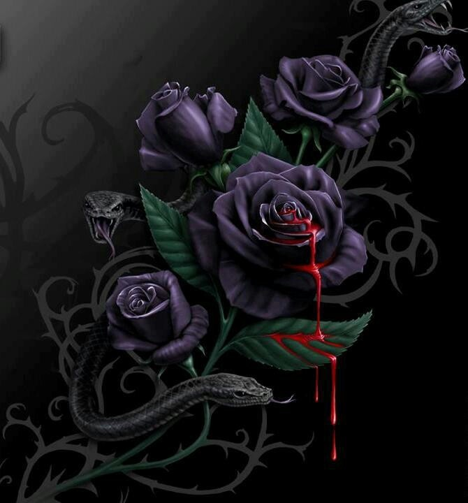 Black roses scary and cool stuff pinterest black roses roses and black - Gothic hintergrundbilder ...