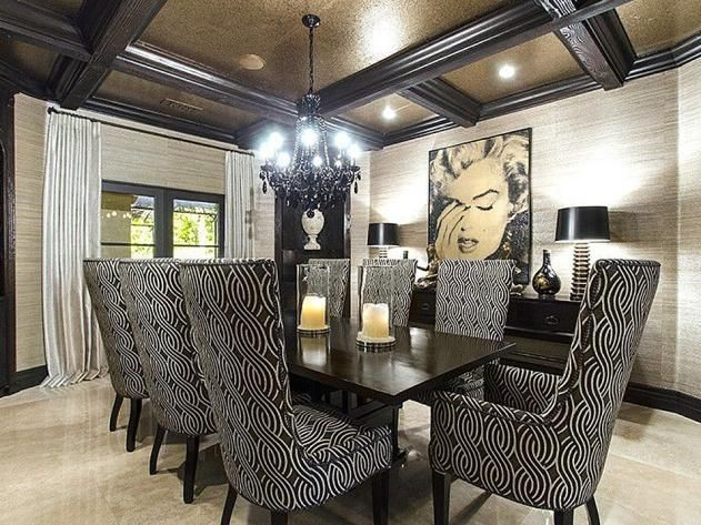 Khloe Kardashianu0027s California Home: Dining Room Part 32
