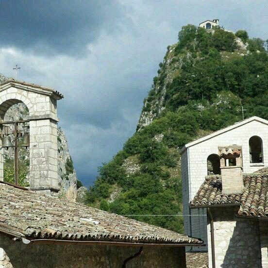 Roccaporena di Cascia, Perugia, Umbria