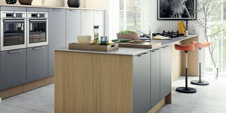 Stilrent køkken med moderne og naturligt udtryk