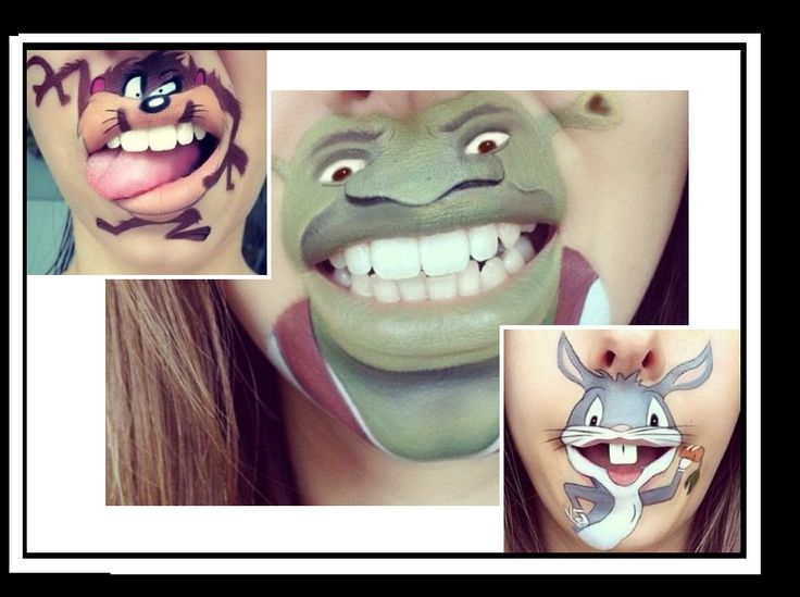 Make-up artist κάνει εξαιρετικά cartoon στο…πιγούνι!