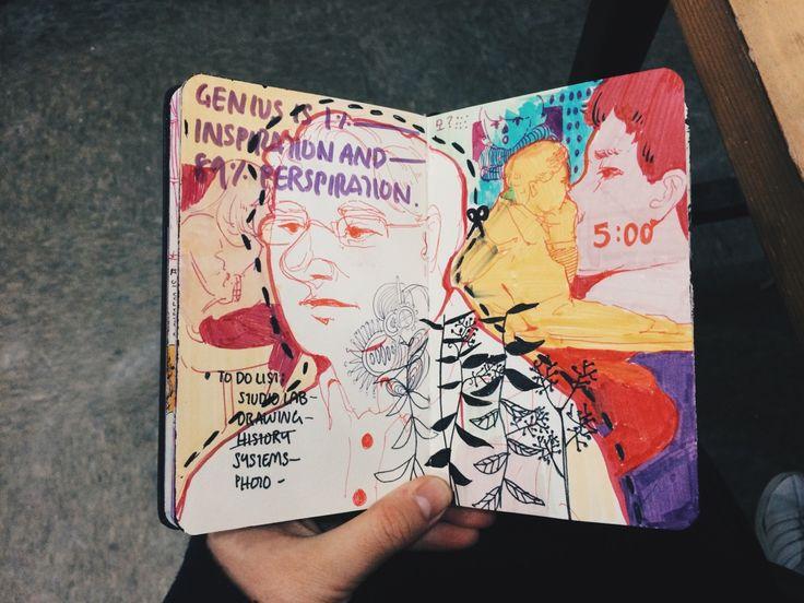 deborah #art #journal #sketchbook
