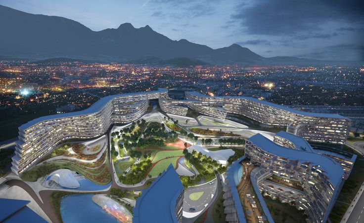 Designed by Zaha Hadid Architects in Monterrey,Mexico Zaha Hadid Architectshaveunveiled their first project in Mexico, a residential development in Monterrey. The countr...