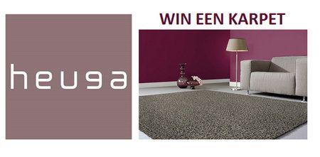 Je maakt kans op een mooi karpet van Heuga. Je kunt kiezen uit 10 verschillende kleuren. Het is mogelijk om een karpet in één kleur of in meerdere kleuren tapijttegels uit te kiezen.