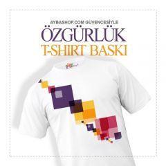 Özgürlük  T Shirt Baskı