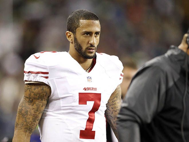 COLLIN KAPERNICKS EYES | Russell Wilson and Colin Kaepernick's eyebrow bet reaches dull ...YOU'VE JUST BEEN KAPPED ! AS INTENSE AS THEY COME !!!