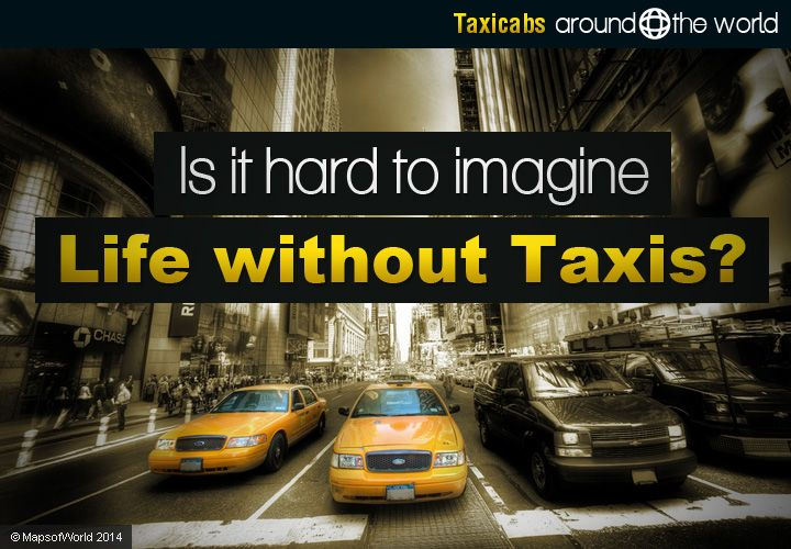 Taxis Around the World – Rundown (in slides) of taxicabs around different countries including USA, England, France, Germany, Russia, Italy, Japan, China, India, Malaysia, Mexico, Brazil, etc.