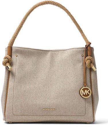 01933c597188 MICHAEL Michael Kors Isla Large Denim Tote Bag | Handbags | Denim ...