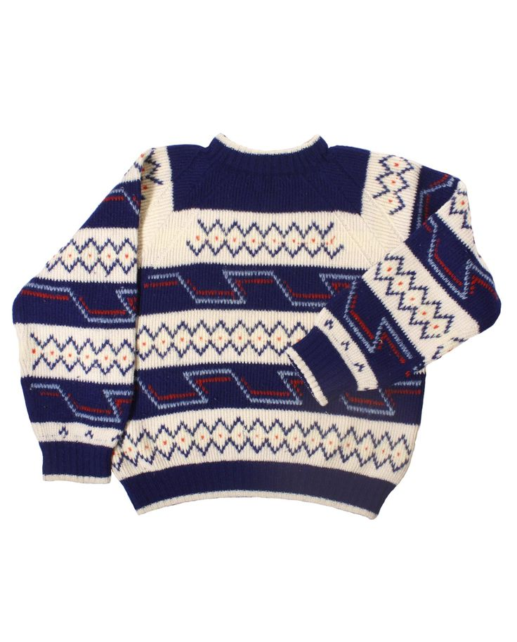 #Wooljacquard #vintagesweater #mountain60s #vintagemountainwool  http://www.madeinused.com/product-category/knitwear/mountain-knitwear/