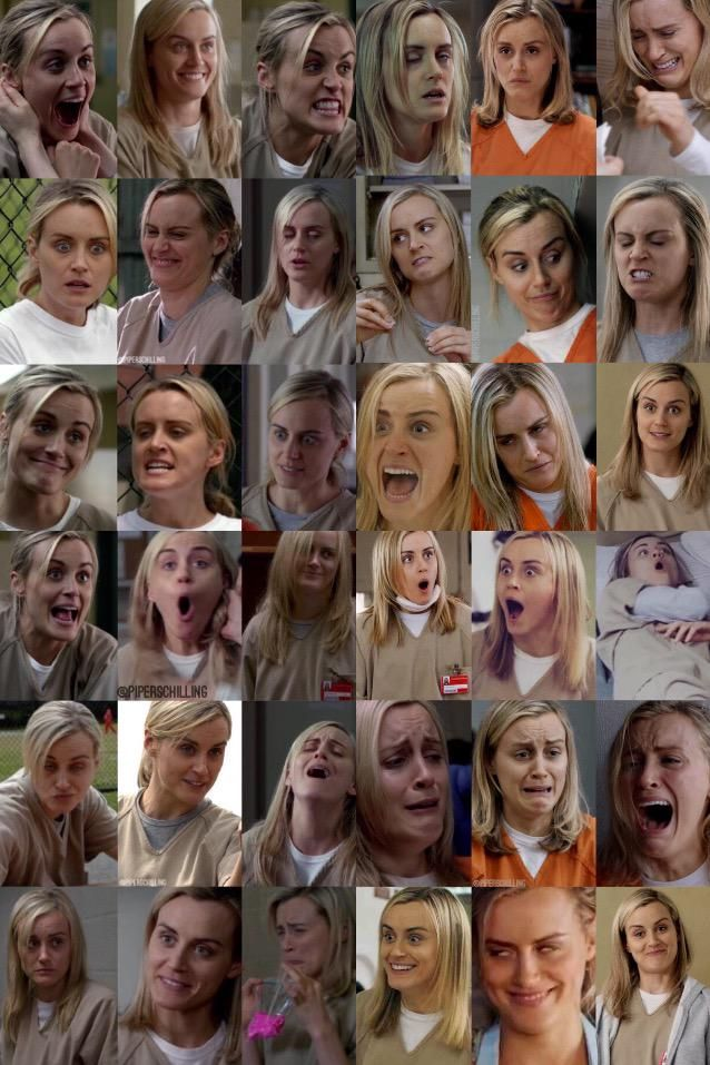 The many faces of Piper Chapman