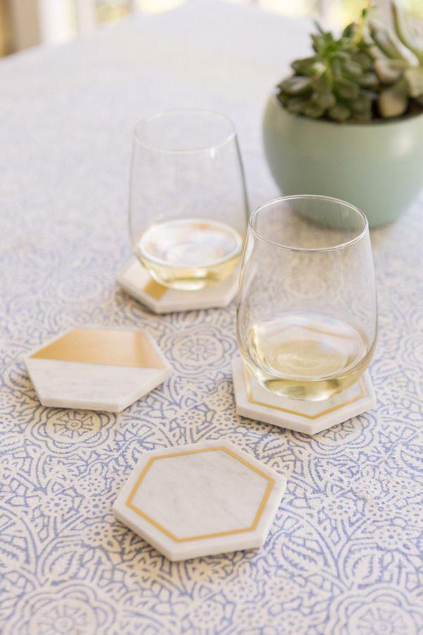 DIY Marble Coasters    #wedding #weddings #weddinginspiration #aislesociety #diy #diywedding