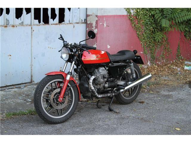 My Moto Guzzi V35 Cafè Racer