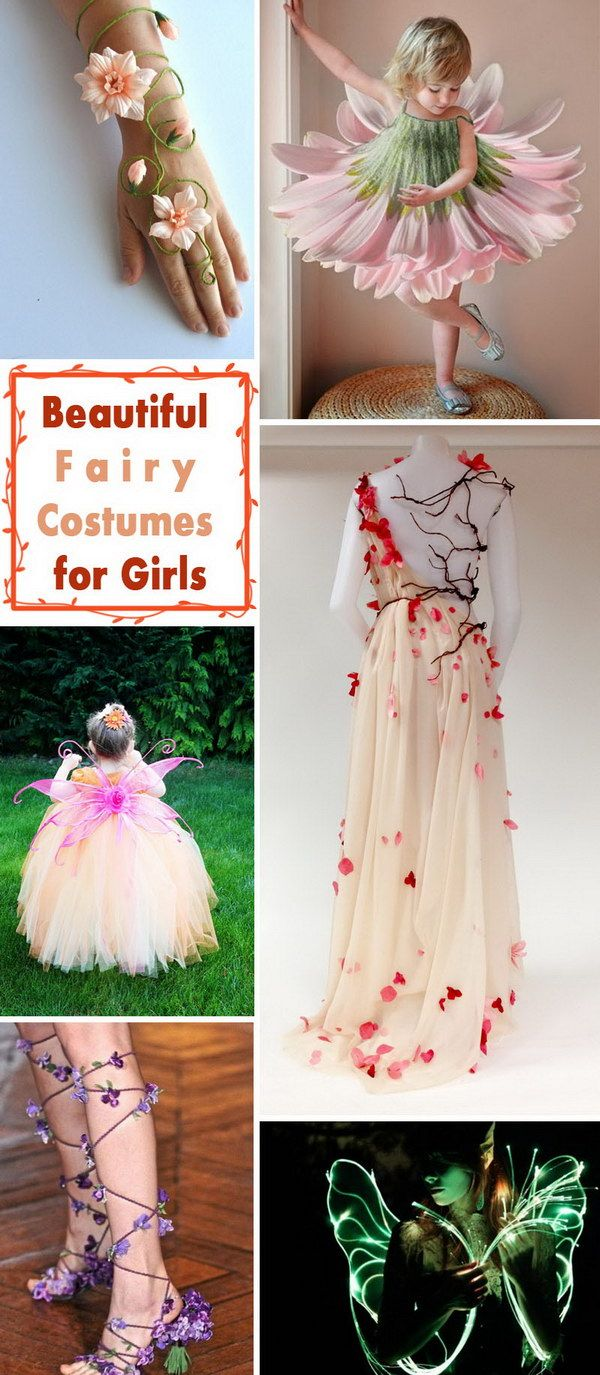 Beautiful Fairy Costumes for Girls.