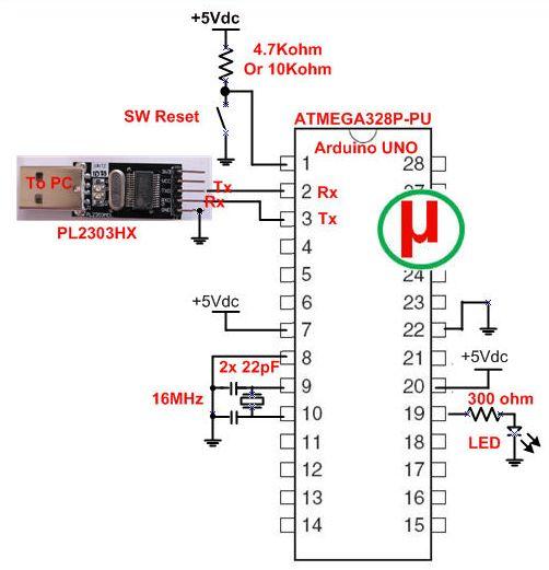 pl2303 arduino