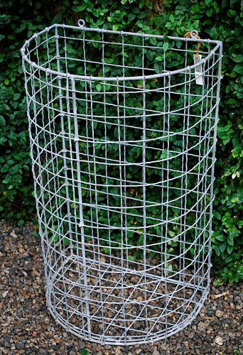 Half Round Wall Basket   Online Garden Store Would be great for planting potatoes and strawberries and secure to fence