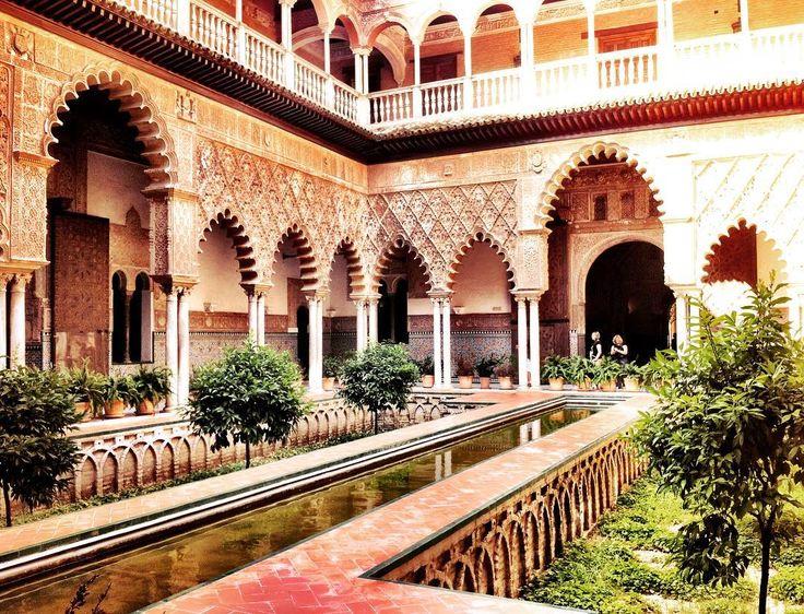 Exotic and so beautiful: Real Alcázar of Sevilla