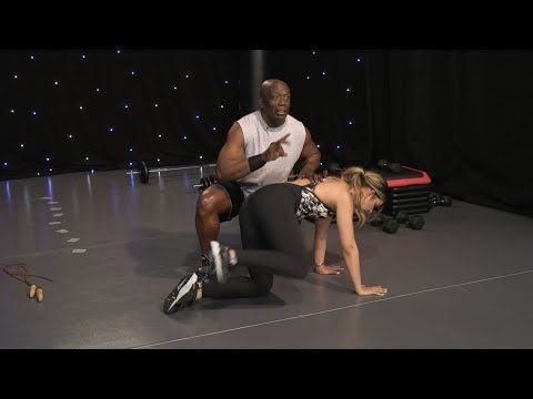 Billy Blanks Tae Bo® 1 on 1 with Melina! - YouTube