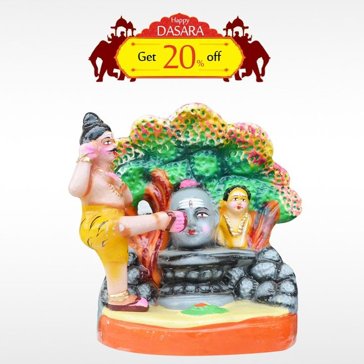 Buy authentic #BedaraKannappa and get 20% off on all #DasaraDolls and make your #DasaraSet more unique. #BringHomeFestival