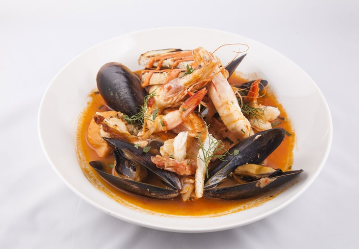 Seafood Boullabeise