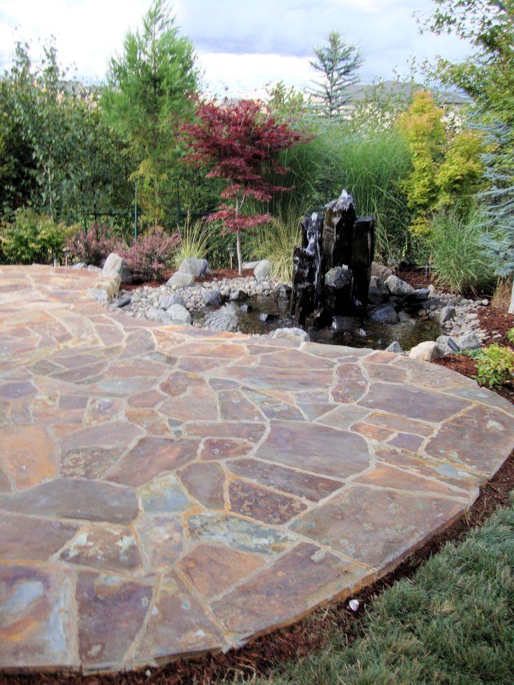 Best 25+ Flagstone patio ideas on Pinterest