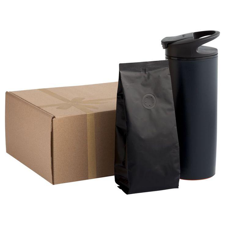 Набор Coffee to go Состав набора:  Термостакан fixMug, черный Кофе в зернах, в черной упаковке (200 г)  Набор упакован в подарочную коробку с наполнителем. Срок сборки готовых наборов — от 3 рабочих дней. Уточняйте информацию у вашего менеджера.
