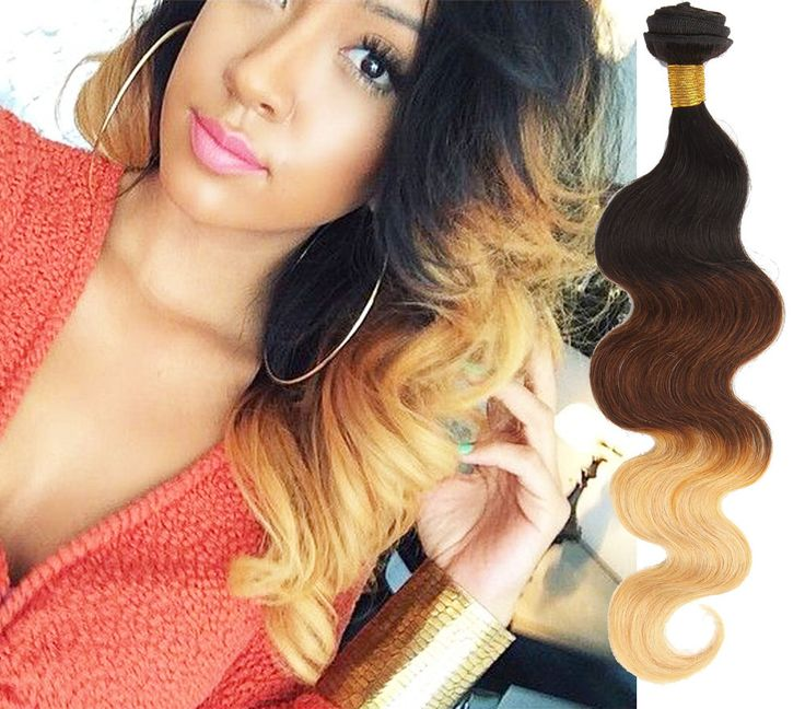 Best 25 hair extensions uk ideas on pinterest blonde hair uk hot 3 bundles 16 18 20 ombre brazilian human hair extension body wave wefts pmusecretfo Image collections