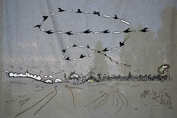 Dance of the Crows, 2012 by Fusun Onur, 2012