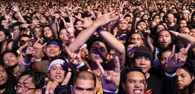 Metalheads - Metallica Live in Jakarta