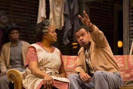 "Lorraine Hansberry's ""A Raisin in the Sun'' is now at the Huntington Theatre Company in a shattering production directed by Liesl Tommy."