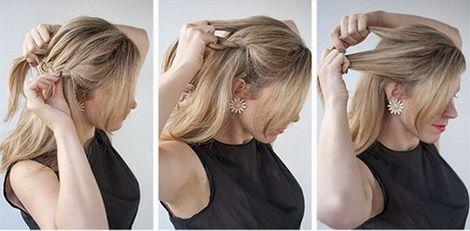 Ежедневные прически на длинные волосы своими руками