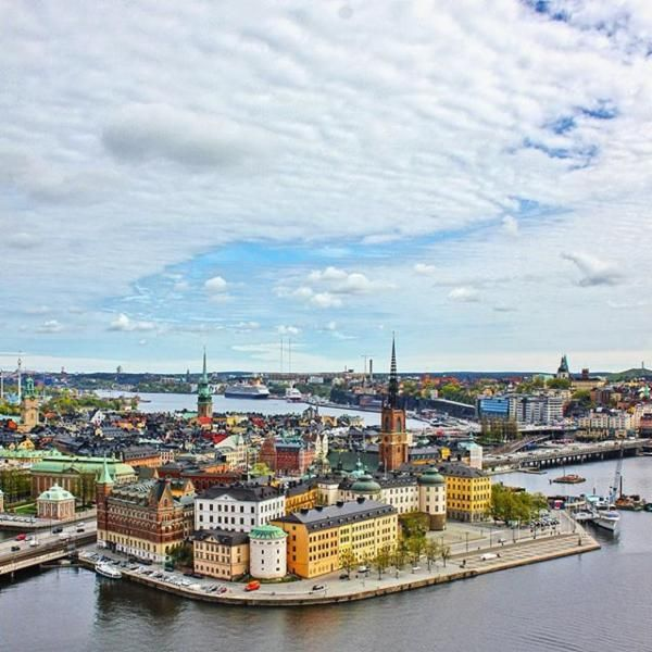 View from Stockholm's City Hall via @theculturemap