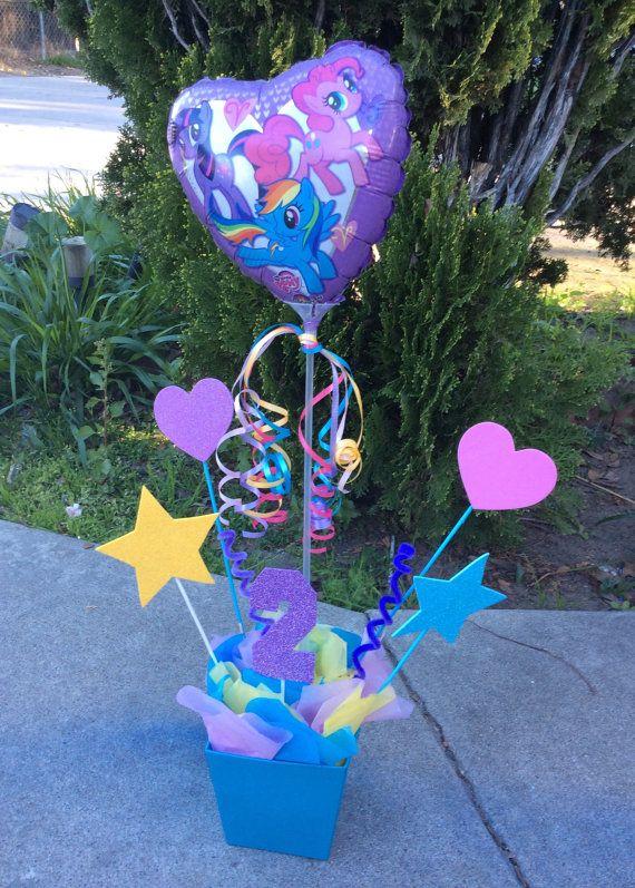 My Little Pony Birthday Centerpiece by FantastikCreations on Etsy