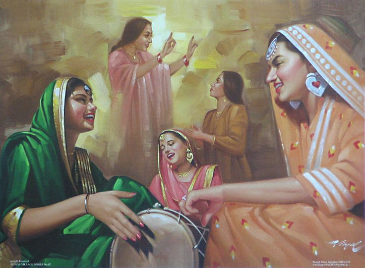 Gaiety of Punjabi Ladies