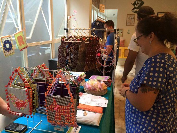 O Cobogó Mercado de Objetos recebe a Virada Verde de Natal, evento que reúne artistas locais para exposição e venda de seus produtos independentes.