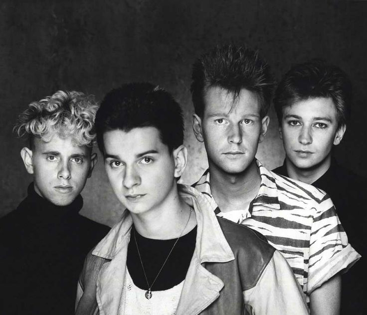 DEPECHE MODE were formed in 1979 in Basildon, England by Martin Gore, Dave Gahan, Andy Fletcher and Vince Clark (later of Yazoo & Erasure). 'Just Can't Get Enough' video: http://youtu.be/_6FBfAQ-NDE