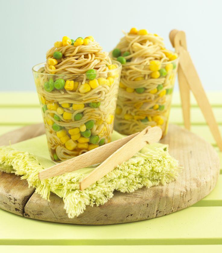 Annabel Karmel's Mummy's Pot Noodles: Much better than ramen noodles for my little menn!