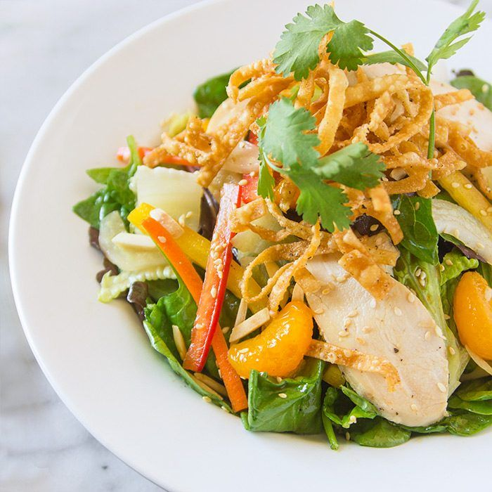 Nordstrom Chinese Chicken Salad Recipe with Sesame-Ginger Dressing. Photo by Jeff Powell.