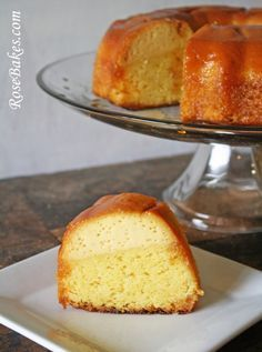 Mom's Flan Cake Recipe... click over for this yummy recipe and see how I messed it up ;)