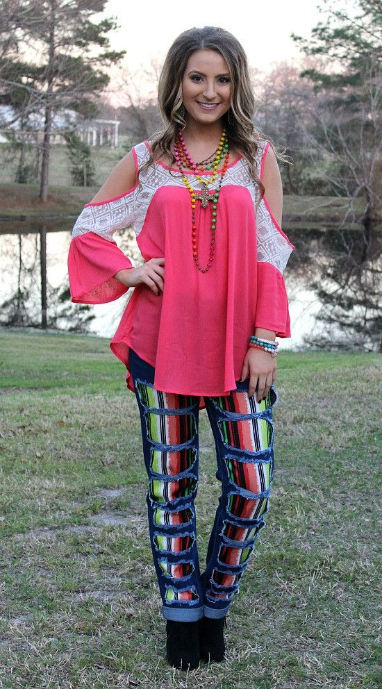 All For You Open Shoulder Top in Coral – Giddy Up Glamour Boutique