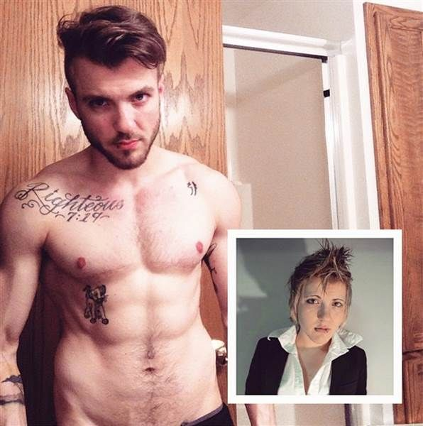 Meet Aydian Dowling, the transgender man who might become a Men's Health cover model. (talk about being confident in your own skin! way to go, Aydian!)