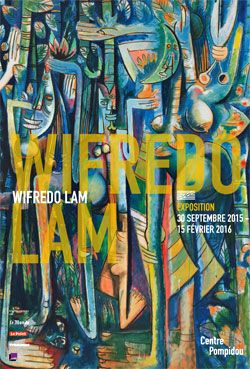 Wifredo LAM- Exposition Beaubourg
