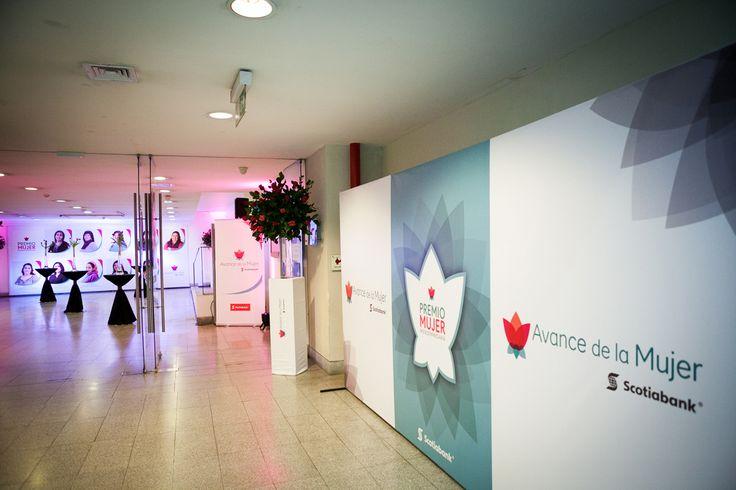 Evento Premio a Micrompresarias Scotiabank, Centro Cultural Palacio la Moneda.