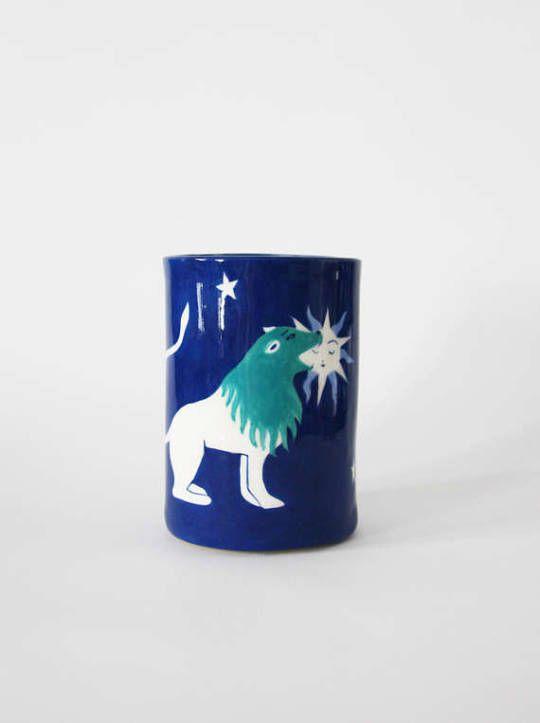 Alchemical Lion Vase //  LisaJunius