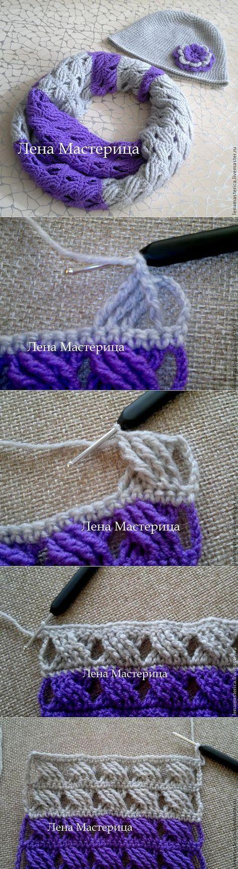 Learn to crochet a beautiful, |