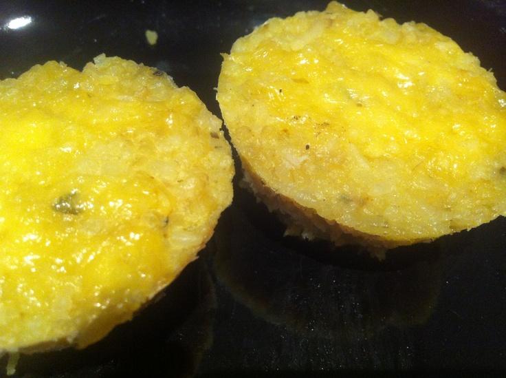 bolinho de arroz assado